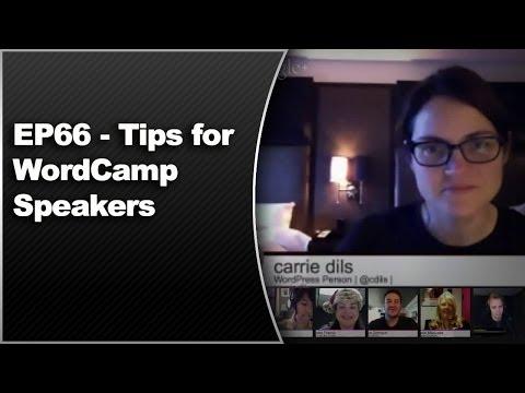 EP66 - Tips for WordCamp Speakers - WPwatercooler - Dec 16