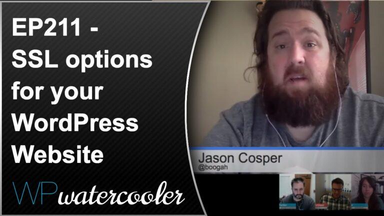 EP 211 - SSL options for your WordPress Website 7