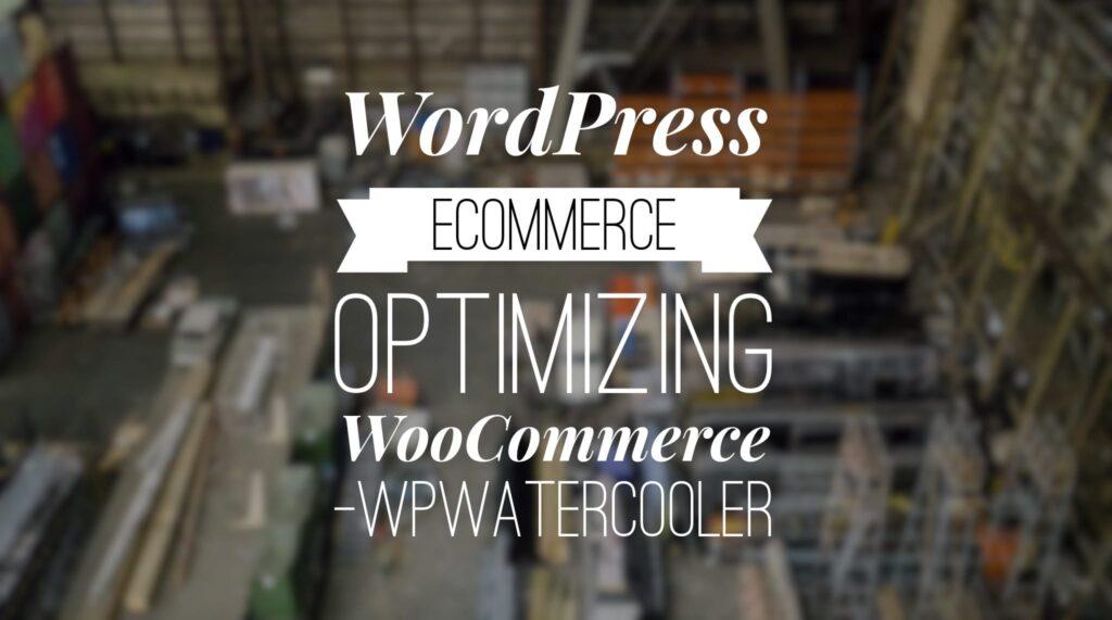 YouTube - WordPress eCommerce - Optomizing WooCommerce