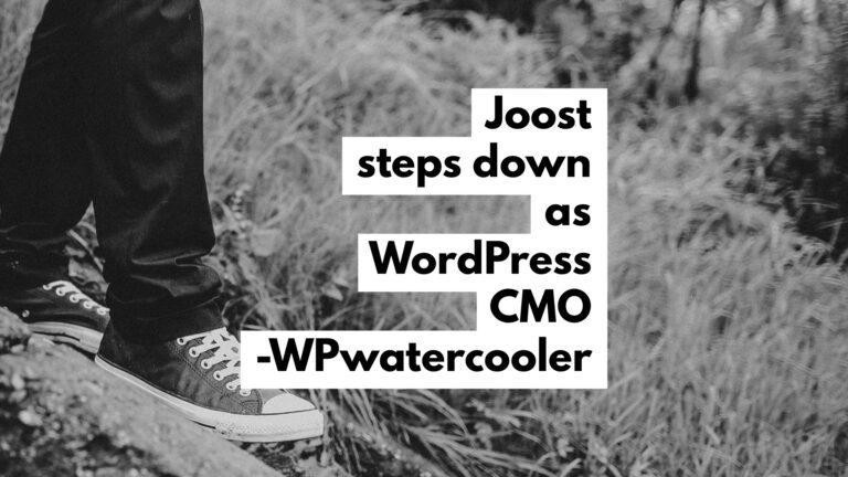 EP325 - Joost steps down as WordPress CMO 2