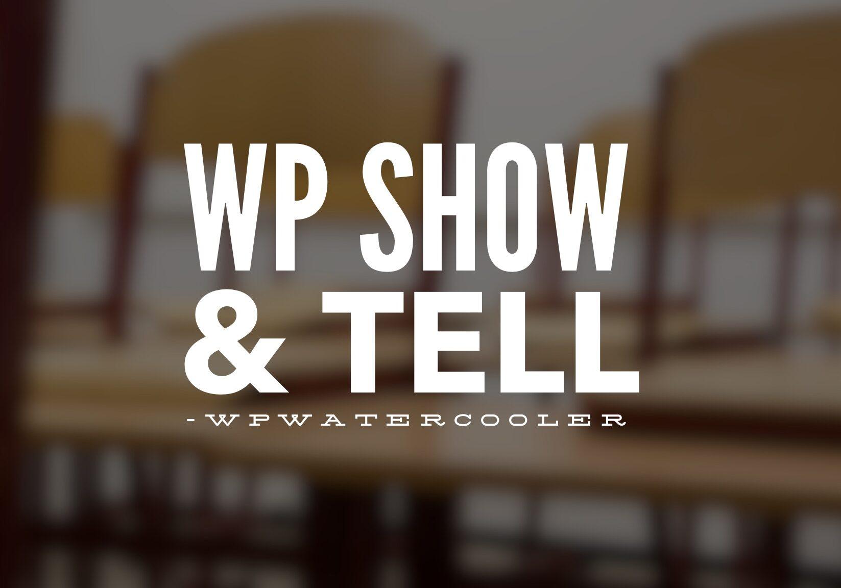 WPshowandtell